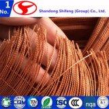 La tela de nylon de la cuerda del neumático usada en el refuerzo para los neumáticos/el hilo de algodón/la cortina de goma Trailerpr/sumergió la tela de la cuerda/la tela sumergida del Ep/la tela sumergida de Nn