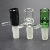 tazones de fuente de cristal de 14mm/18m m para los tubos del vidrio de las plataformas petroleras del tabaco