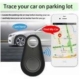 2017 o inventor em dois sentidos chave do artigo do alarme 8g do inventor de Bluetooth do mini perseguidor do GPS para crianças, animais de estimação, pessoas idosas, carteiras, carros, telefona ao pacote de varejo