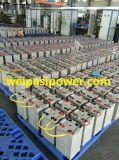 2V400AH AGMによっては、充電電池の深いサイクルの太陽エネルギー電池再充電可能な力電池の長命電池のための弁によって調整される鉛のAicd電池がゼリー状になる