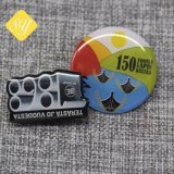 La hojalata de metal personalizados personalizados souvenirs impreso Nypd insignia de solapa