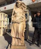 Il giardino di marmo beige condice la signora Sculptures