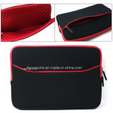 Luva de notebook em neoprene Mala Tablet transportando