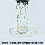 Eindeutiges Prisma-Entwurfs-Quallen Perc Glasrohr-Zubehör-Glaswasser-Pfeife
