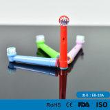 Präzision scherzt elektrische Zahnbürste-Abwechslungs-Nullköpfe der Zahnbürste-Eb10A für orales B/Braun Flexisoft