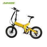 Fat Pneu 20 pouces 36V de la pédale de pliage aider vélo électrique