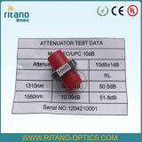 FCの調節可能なファイバーの光学減衰器