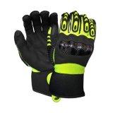 Механическая безопасность Anti-Impact рабочие перчатки с песчаными нитриловые покрытие