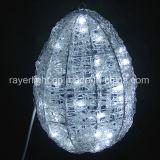 Easter Ovos de éster de decoração de iluminação LED decoração Motif de férias