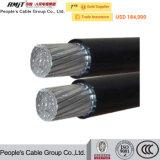 China-Hersteller-zusammengerolltes Kabel ABC-Luftkabel
