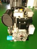 Natürlich angesogener Zylinder-Dieselmotor-Hochgeschwindigkeitsmotor des Zwilling-2 für Wasser-Pumpe Genset Energien-Generator-Set Twd290f 10kw 13.6HP 3000rpm