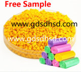 De Gele Kleur van uitstekende kwaliteit Masterbatch voor het Vormen van de Injectie Plastic Producten
