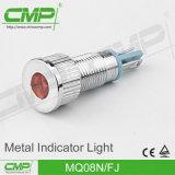 Indicatore luminoso di indicatore impermeabile del CMP 08mm LED