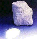Weißes Aluminiumoxyd-Symbol WA