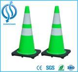 Reflektierender Belüftung-Plastikverkehrs-Straßen-Kegel