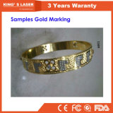 Золото серебро режущий гравировка машины резак engraver лазера 30W 50Вт 100W