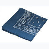 Bandana della sciarpa di collo di usura casuale delle sciarpe della sciarpa del cotone di Paisley degli uomini quadrati dei Bandanas