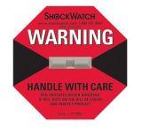 Etiqueta engomada de la vibración del Shockwatch que empaqueta escrituras de la etiqueta de envío frágiles