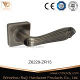 Qualitäts-Satin-Nickel-Zink-Tür-Hebel-Verschluss-Griff (z6284-zr13)