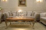 Tavolino da salotto di scultura di legno solido della mobilia antica della camera da letto dei 0066 europei
