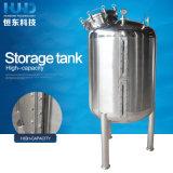 El tanque de almacenaje de la presión del acero inoxidable de la alta calidad