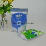 С герметичными застежками ламинированные продовольственной молнией пластиковый пакет