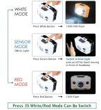 La chasse au gros Camping Briquet rechargeable USB projecteur lampe torche lampe de tête d'exploitation minière