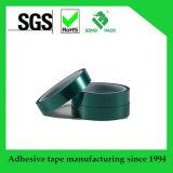 Polvere che ricopre il nastro adesivo a temperatura elevata di verde dell'animale domestico