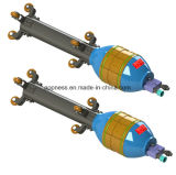 油圧パイプラインの内部整列クランプ: 適当な管の直径219.1mm