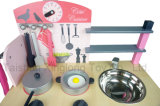 Los pájaros de madera populares de los juguetes del juguete de madera preferido de la cocina de los niños modelaron los pequeños juguetes de la cocina