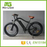 Cruzador gordo grande da praia do pneu da potência 48V 750W Ebikes para bicicletas adultas do esqui E de China MTB