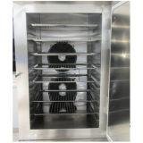 Máquina del congelador de ráfaga de la bola de masa hervida del alimento