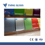 Peint en verre / verre céramique / Retour en verre coloré pour le Cabinet/porte/le dossier de table/bureau/rampes/Splash de bord