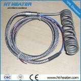 Chaufferette chaude de ressort hélicoïdal de turbine