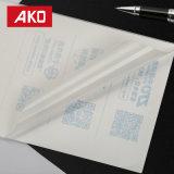 La logística de las escrituras de la etiqueta de envío que corta con tintas etiqueta la hoja para el área fría del transporte frío