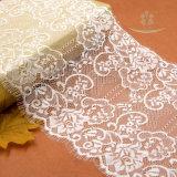 Nueva tela del cordón del bordado del algodón del diseño de 2017 resortes