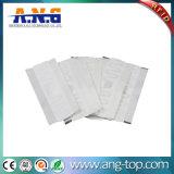Tecido branco UHF RFID lavável Lavandaria Tag