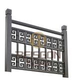 最新のDesingsのステンレス鋼のステアケースの手すりおよび柵