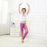 Высокое качество печати молоко детям Legging шва для йоги