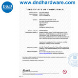 ULの証明書が付いている304か316ハードウェアの離昇のドアヒンジ