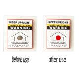 El envío sensible que sigue la etiqueta engomada para protege el producto