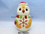 Vaso di biscotto di ceramica decorativo di natale