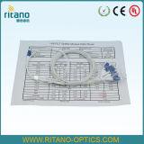 1X8 PLC van de Koppelingen van de Splitsers van de vezel Optische Splitsers, de Ruw gemaakte Beklede Vezel van 0.9mm