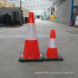 Фабрика Jiachen конус движения PVC 28 дюймов с черным основанием