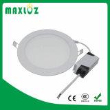 La Chine fournisseur ronde ultra plat encastré voyant de panneau à LED 6 W