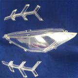 Libre de piezas de plástico transparente de alta de la superficie del molde, de polaco
