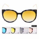 NO MOQ Fashion Female High quality Mirror Sunglasses (HFF0015)