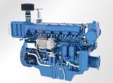 De Dieselmotor van Weichai