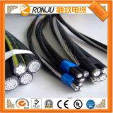 Cable de transmisión acorazado de aluminio de la envoltura del PVC del alambre de acero del aislante de la base XLPE