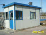 Gute Qualitätszurückführbare bequeme Installations-temporäres Haus/temporäre Büros/fabrizierten Haus-Installationssatz vor